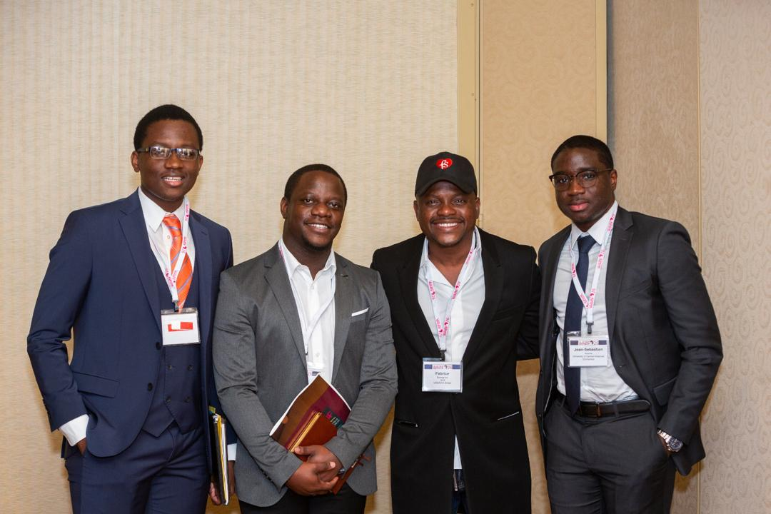 Fabrice Sawegnon, PDG de Voodoo Group lors de la Wharton Africa Business Forum 2018