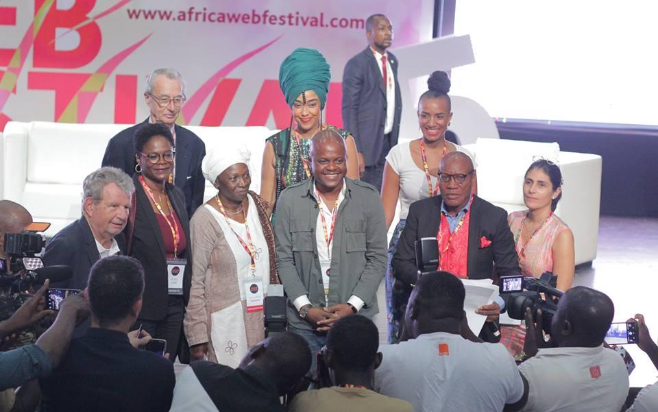 Fabrice Sawegnon, PDG de Voodoo Group lors de l'Africa Web Festival 2018