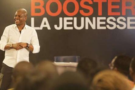 Fabrice Sawegnon, PDG de Voodoo Group lors du #MeetupFS