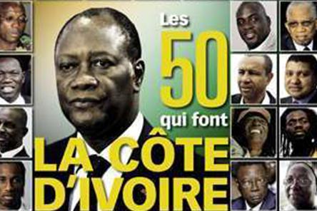 Revue de presse - Les 50 qui font la Côte d'Ivoire - Fabrice Sawegnon
