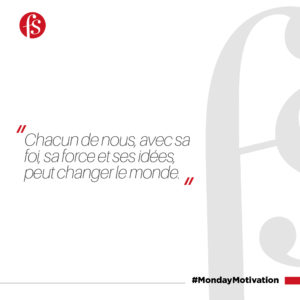 MONDAY MOTIVATION 05 OCTOBRE 2020