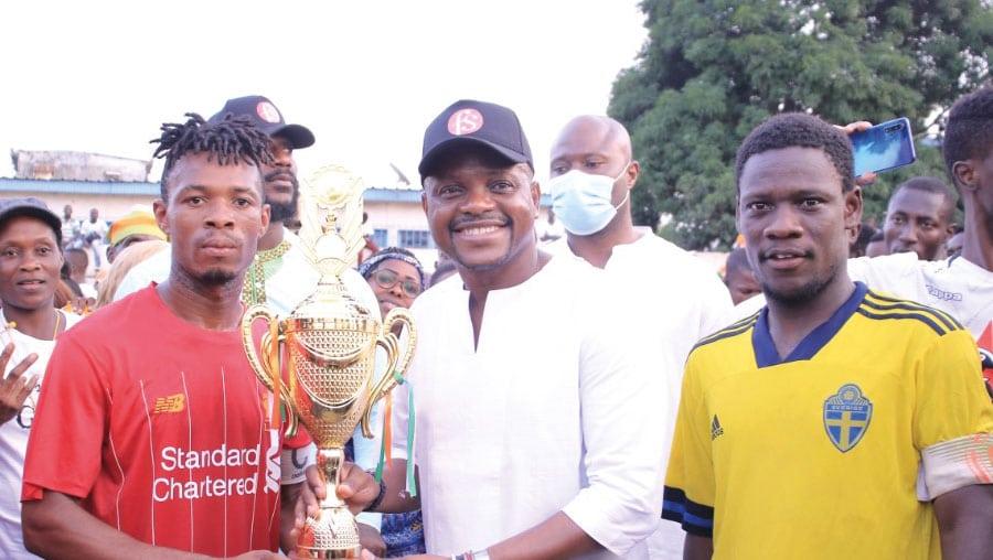 Gala de football à Locodjro : Fabrice Sawegnon prône la paix et la cohésion sociale